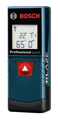 Medidor De Distancia Laser Bosch 20m Glm20 Professional