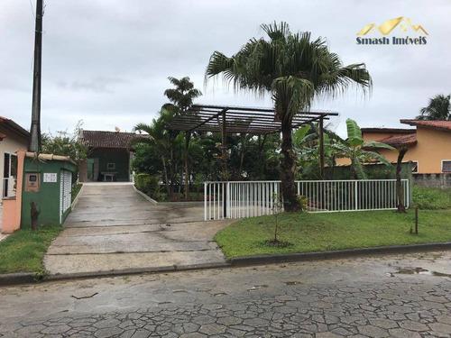 Casa Com 3 Dormitórios À Venda, 220 M² Por R$ 840.000,00 - Boracéia - Bertioga/sp - Ca0063