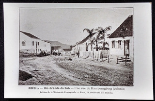 Rio Grande Do Sul, Hamburgo- Cartão Postal Antigo Original