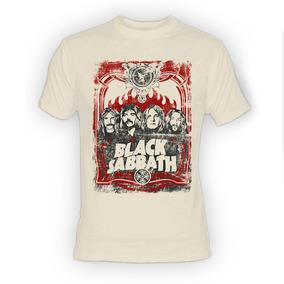 Playera Black Sabbath Rostros Ozzy Deep Purple Scorpions Dri