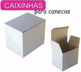 Caixinhas P/canecas De Porcelana 325ml Pct C/100