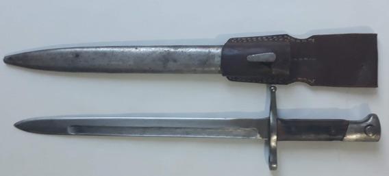 Baioneta Rifle Infantaria Italiano Carcano M1891 2ª Guerra