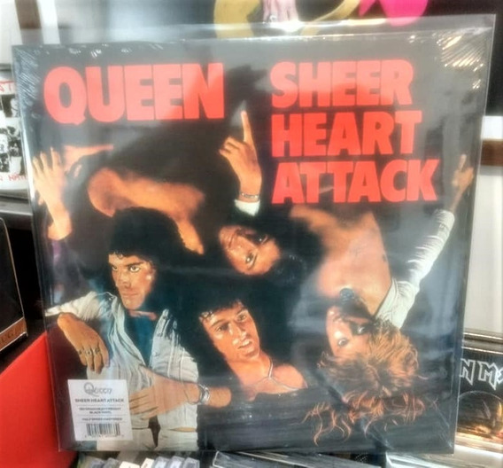 Lp Queen Sheer Heart Attack (lacrado)
