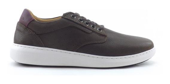Zapatillas Marsanto Cuero Hombre Casual Comodas Sport 0501