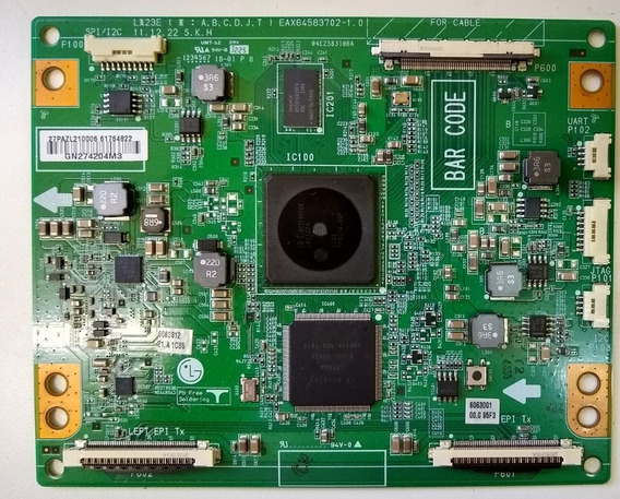 Placa T Con Tv Lg 47lm8600 Eax64583702-1.0 C/ Garantia