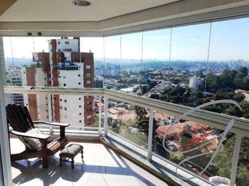 Imagem 1 de 17 de Cobertura Com 4 Dormitórios  A Venda Na Vila São Francisco - Cb00067 - 69354525