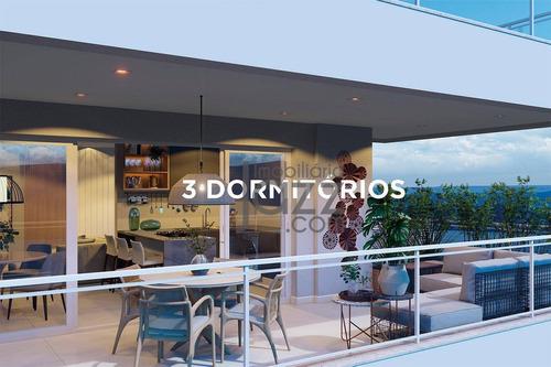 Apartamento Com 3 Dormitórios À Venda, 112 M² Por R$ 738.555 - Represa De Rifaina - Rifaina/sp - Ap5640