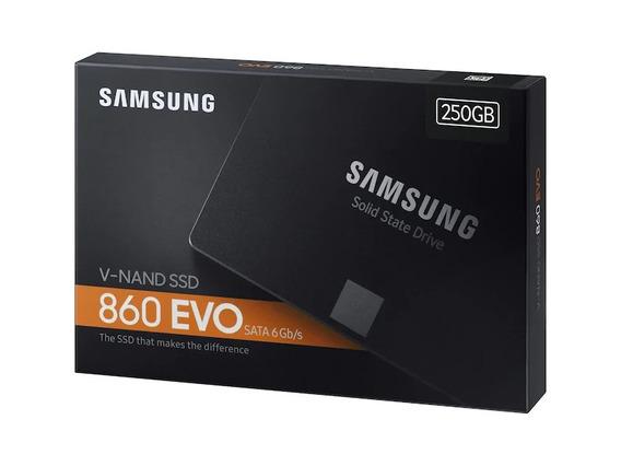 Hd Ssd 250gb Samsung 860 Evo 2.5 Sata3 550mb/s - Promoção