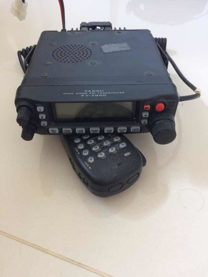 Rádio Amador Transceiver Yaesu Dual Band Fm Ft 7900