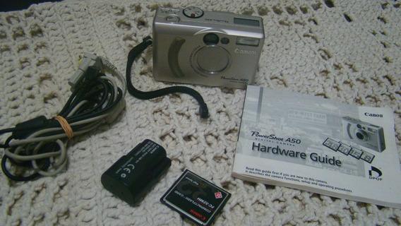 Antiga Câmera Digital Canon Powershot A50