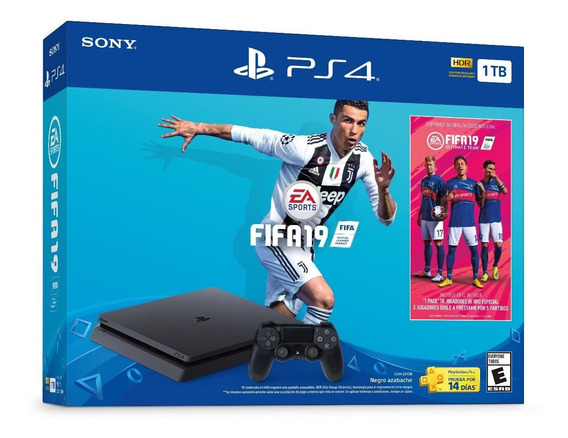 Consola Sony Playstation 4 Slim 1tb Fifa 19 Bundle Ps4