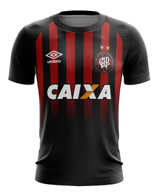 Camiseta Adulto Atlético Paranaense Personalizada Com Nome