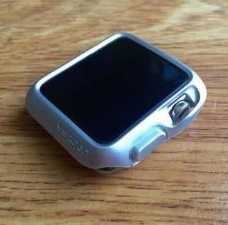 Case Capa Spingen Original Apple Watch 3 Cinza E Prata 2 Un