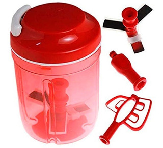 Recipiente Cortador Batidor Turbo Chef Tupperware C24