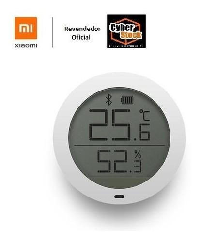 Imagem 1 de 9 de Sensor Medidor De Temperatura E Umidade Bluetooth Xiaomi