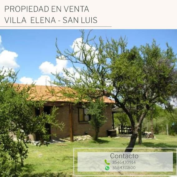 Propiedad En Venta Villa Elena, San Luis.