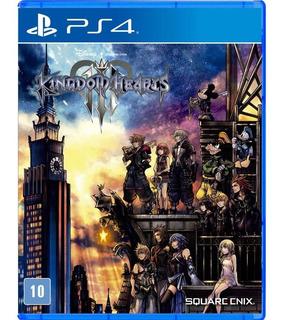 Kingdom Hearts 3 Mídia Física Lacrada Ps4 Rcr Games