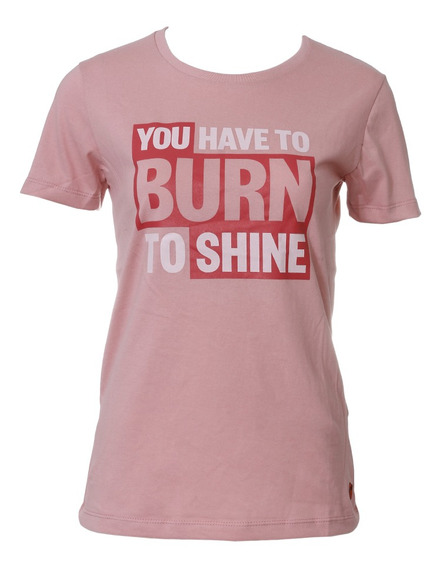 Remera Topper C Moda Burn To Shine Mujer Rv