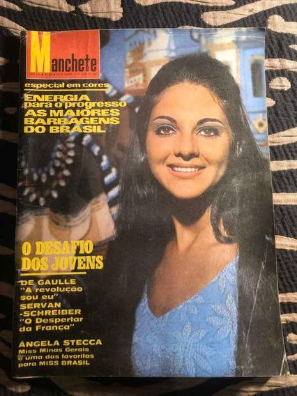 Manchete 68 Miss Minas B Joice Rosemary Gil Caetano Tônia C