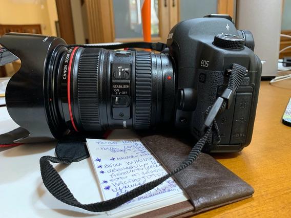 Canon Eos 5d Mark Ii Com Lente Ef 24-105l Is