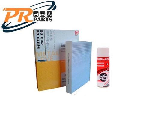 Imagem 1 de 1 de Filtro Ar Condicionado Gol G3 + Higienizador