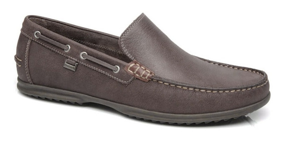 Mocassim Freeway Fly 3243 - Couro Chocolate (estilo Samello)