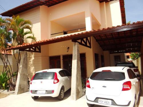 Casa Com 4 Dormitórios À Venda, 350 M² Por R$ 950.000,00 - Sapiranga - Fortaleza/ce - Ca1701