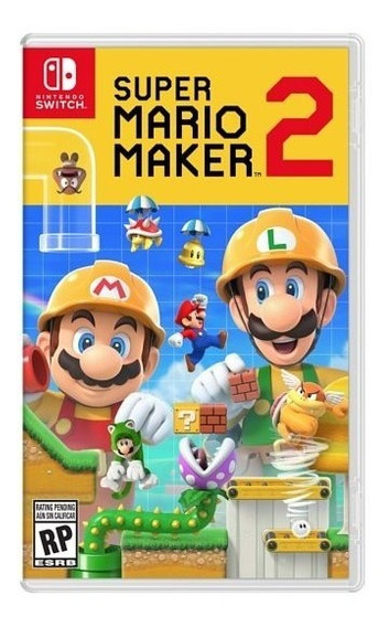 Super Mario Maker 2 - Switch Lacrado