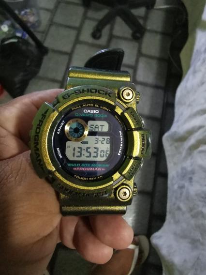 Casio G Shock Frogman Gw200 Edição Especial Raro Lindo!!!