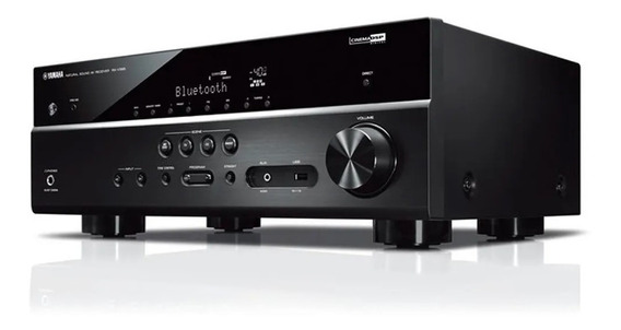 Receiver Yamaha Rx-v385 Receiver 5.1 Bt 4k Uhd 3d 385
