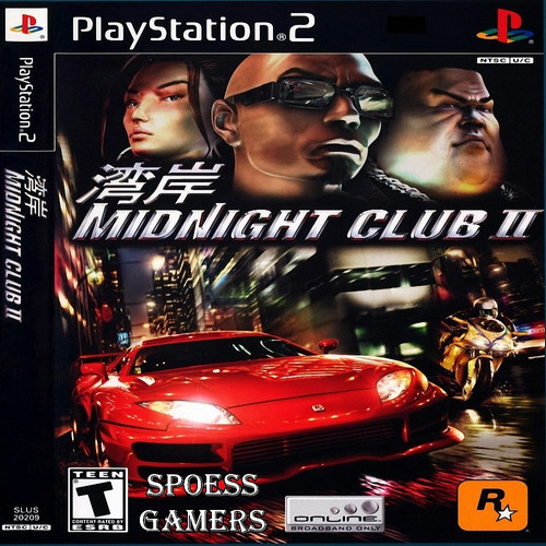 Midnight Club 2 Ps2 Patch Corrida Carros