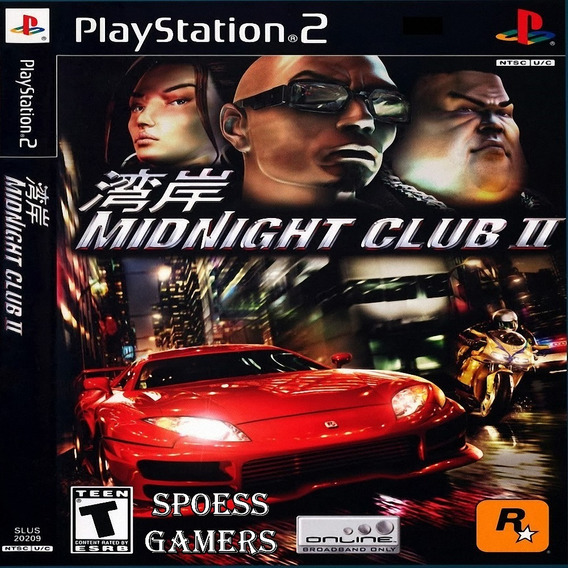 Midnight Club 2 Ps2 Patch Corrida Carros