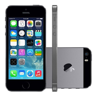 iPhone 5s 16b Semi Novo + Brinde