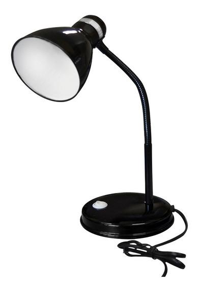 Abajur Luminaria D Mesa Com Flexível Ideal Para Escrivaninha