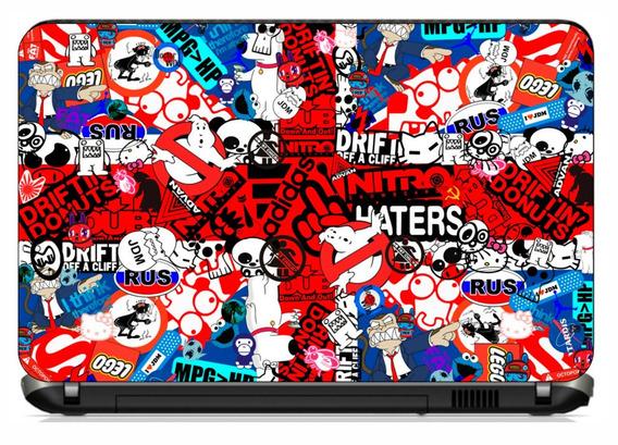 Adesivo Personalizado Notebook Sticker Bomb