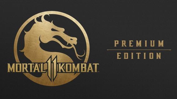 Mortal Kombat 11 Ed.premium Xbox One Digital +1 Jogo Grátis