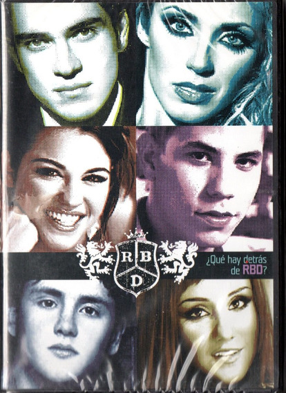 Rbd Que Hay Detras De Rbd Dvd - Los Chiquibum