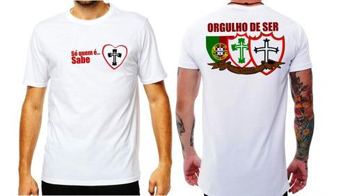 Camisa Portuguesa Exclusiva Paixão De Torcedor M Ou F