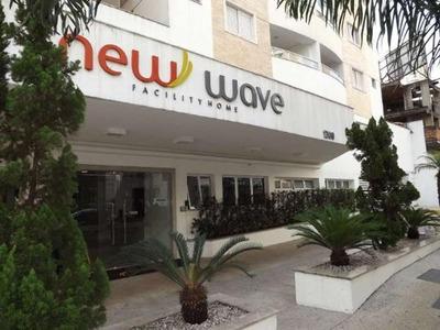 Apartamento Flat Com 1 Quarto No Ed. New Wave - 1435-l