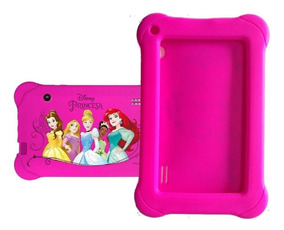 Capa Case Emborrachada Tablet 7 Pol Princesas Disney
