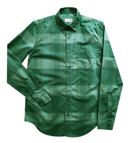 78770cbc0c Camisa Lacostes Hombre - Camisas Manga Larga de Hombre en Mercado ...