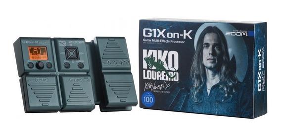 Pedaleira Zoom G1xon-k Kiko Loureiro + Garantia 2 Anos