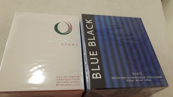 2 Perfume Deep Sense Sport Edp,blue Black Edp 100ml Original