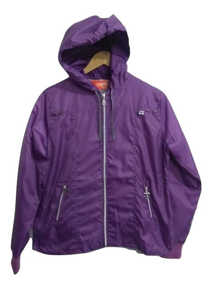 Campera Rompeviento Mujer Impermeable Talles 2 Al 8