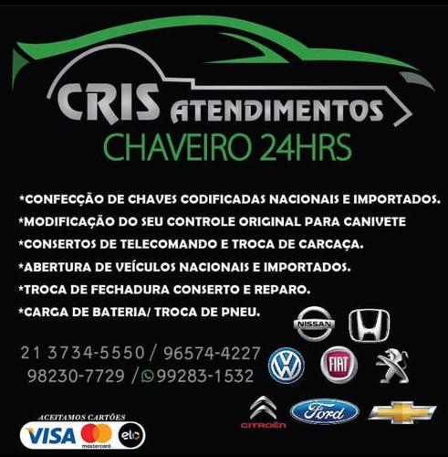 Imagem 1 de 5 de Chaveiro Automotivo 24 Horas. Atendemos A Domicílio!