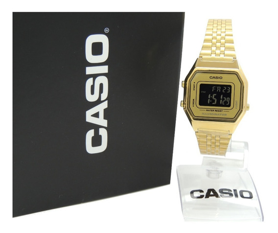 Relógio Casio Vintage - La680wga-9bdf - Nf + Garantia