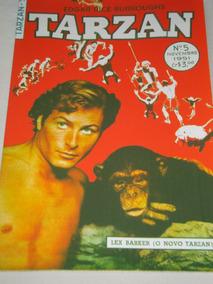 Tarzan Nº 5 De 1951 Ebal Lex Barker Na Capa Veja Descrição