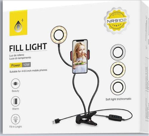Lámpara Luz Led Para Más Soporte Para Celular