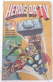 Heróis Da Tv Nº 1 - Editora Abril - Com Defeito - 1979