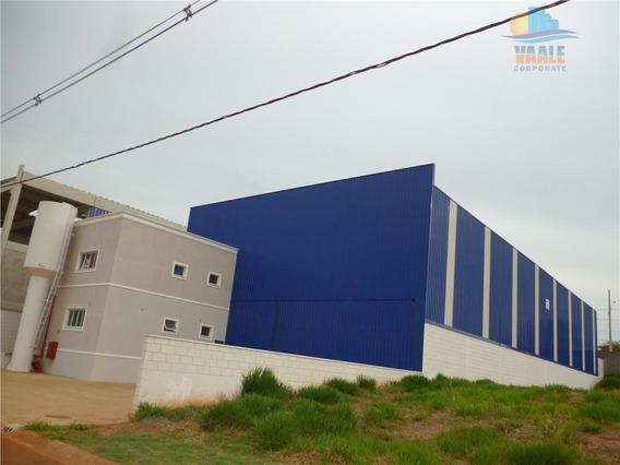 Galpão Industrial Para Locação, Parque Jatobá (nova Veneza), Sumaré. - Ga0059